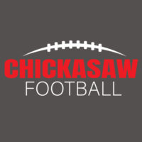 Chickasaw Football - Muscle Tank Design