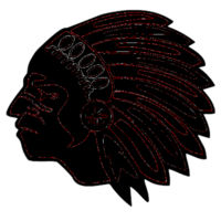 Chickasaw Head Mask - Youth Everyday Mask Design