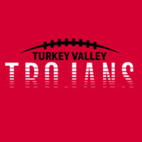 Turkey Valley Trojans Football - Softstyle T-Shirt Design
